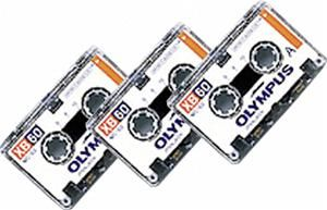 Olympus Mikrokassette XB-60 NP 3 60 minutes, 3 Stück (Article no. 90042950) - Picture #1
