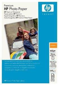 HP 10x15cm 240g/m² hochglänzend 20 Blatt, Premium Fotopapier (Article no. 90066562) - Picture #1