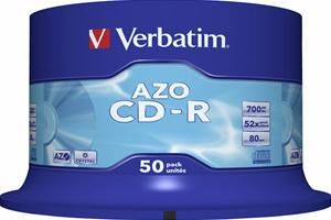 Verbatim CD-R 80 Minuten 700MB 52X , (Article no. 90070021) - Picture #2