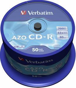 Verbatim CD-R 80 Minuten 700MB 52X , (Article no. 90070021) - Picture #1