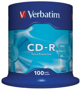 Verbatim CD-R 80 Minuten 700MB 52x Extra , (Article no. 90088566) - Picture #2