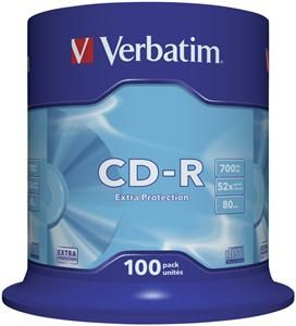Verbatim CD-R 80 Minuten 700MB 52x Extra , (Article no. 90088566) - Picture #1