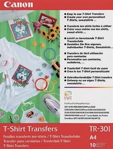 Canon TR-301 A4 T-Shirtfolie (Article no. 90115702) - Picture #1