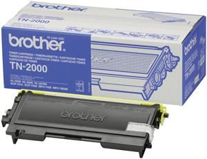 Brother TN-2000 Toner Schwarz (Article no. 90135156) - Picture #1