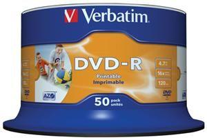 Verbatim DVD-R 4.7GB 16X Inkjet white 50er Spindel (Article no. 90135185) - Picture #2