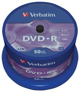 Verbatim DVD+R 4.7GB 16X 50er Spindel (Article no. 90146920) - Picture #3