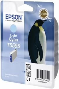 Epson T5595 Tinte Hellcyan (item no. 90148266) - Picture #1
