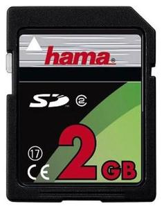 Hama SD Karte 2GB , (Article no. 90161282) - Picture #1