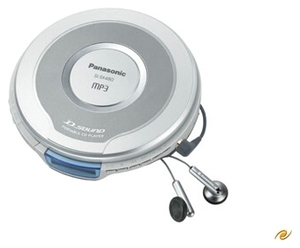 Panasonic SL-SX 480 EG-S silver CD-Player, tragbar (Article no. 90170119) - Picture #1