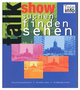 Talk Show (Telefonausk./Stadtpläne) German version (Article no. 90170860) - Picture #1