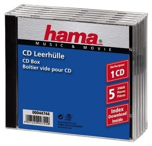 Hama CD-Leerhlle Standard (item no. 90179205) - Picture #1