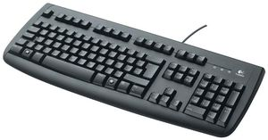 Logitech OEM Keyboard Deluxe 250 USB deutsch, schwarz (Article no. 90190113) - Picture #3