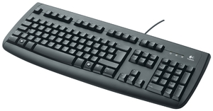 Logitech OEM Keyboard Deluxe 250 USB deutsch, schwarz (Article no. 90190113) - Picture #2