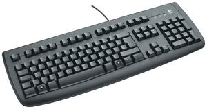 Logitech OEM Keyboard Deluxe 250 USB deutsch, schwarz (Article no. 90190113) - Picture #5