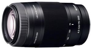 Sony 75-300/4.5-5.6 SAL-75300 (Article no. 90191845) - Picture #3