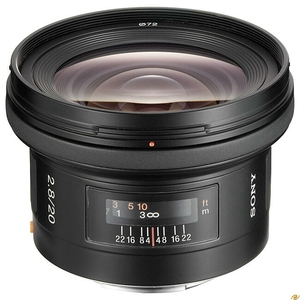 Sony 20/2.8 SAL-20F28 (Article no. 90191864) - Picture #1