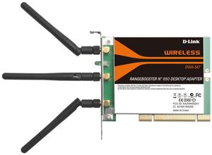 D-Link DWA-547 Wireless N PCI Card (Article no. 90193115) - Picture #3