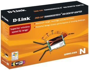 D-Link DWA-547 Wireless N PCI Card (item no. 90193115) - Picture #4