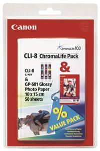 Canon CLI-8 Chromalife Pack (Article no. 90196655) - Picture #2