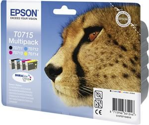Epson T0715 DURABrite Ultra Multipack (item no. 90202901) - Picture #1