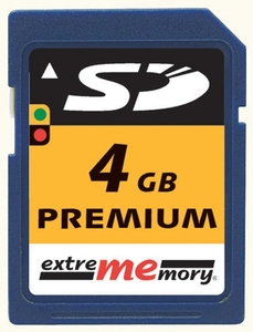 extrememory SD Karte 4GB (item no. 90207653) - Picture #1