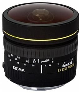 Sigma 8/3.5 EX DG Zirkular Fisheye Sigma -Bajonett (Article no. 90208158) - Picture #1
