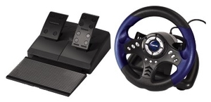 Hama Racing Wheel Thander V18 for PS2 (item no. 90214075) - Picture #2