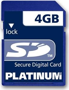 Platinum SD Karte 4GB (Article no. 90226960) - Picture #1