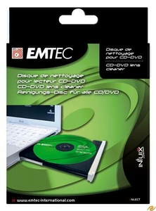 Emtec Laufwerkslinsenreiniger CD/DVD (Article no. 90227094) - Picture #1
