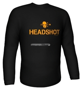 Longsleeve HEADSHOT black Gr.XL (Article no. 90237402) - Picture #1