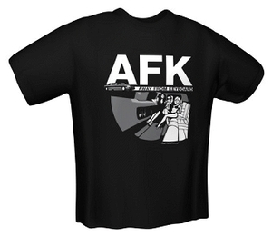 T-Shirt AFK black Gr.M (item no. 90237421) - Picture #1