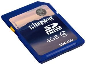 Kingston SDHC Karte 4GB (Article no. 90238151) - Picture #2