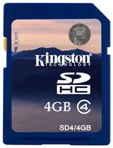 Kingston SDHC Karte 4GB (Article no. 90238151) - Picture #4