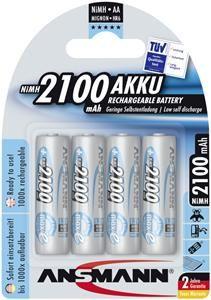 Ansmann MaxE Akku NiMH Mignon 2100mAh , (Article no. 90240957) - Picture #1