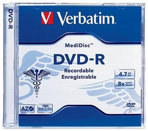 Verbatim DVD-R 4.7GB 8X MediDisc (Article no. 90242900) - Picture #2