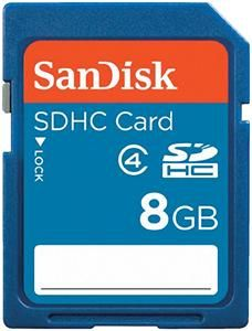 SanDisk SDHC Karte 8 GB (Article no. 90246347) - Picture #1