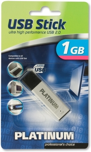 Platinum USB-Stick 1GB (Article no. 90246634) - Picture #1