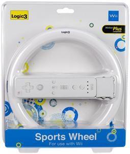 Logic3 Wii Sports Wheel Lenkrad-Aufnahme für Wii-Fernbedienung, (Article no. 90247589) - Picture #1