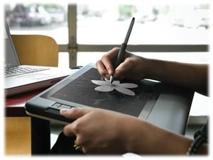 WACOM Cintiq 12WX LCD-Tablett USB 1280x800, 24bit, 170 Grad Blickwinkel, (Article no. 90250025) - Picture #2