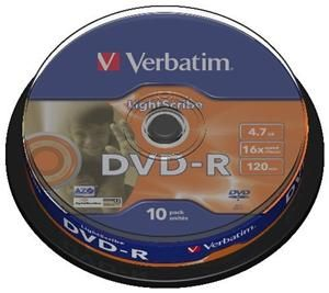 Verbatim DVD-R 4.7GB 16X (item no. 90254839) - Picture #1