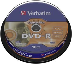 Verbatim DVD-R 4.7GB 16X 10er Spindel (Article no. 90254839) - Picture #1