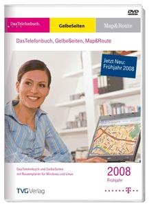 Telefonbuch: Gelbe Seiten.Map&Route Frühjahr 2008 (Article no. 90263663) - Picture #1