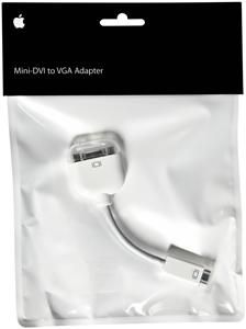 Apple Mini-DVI auf VGA Adapter (Article no. 90271269) - Picture #1