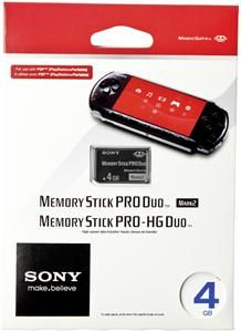 Sony Memory Stick PRO Duo Mark II  4GB , (Article no. 90272905) - Picture #1