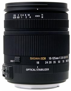 Sigma 18-125/3.8-5.6 DC OS HSM S/AF (Article no. 90274409) - Picture #1