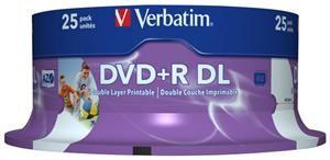 Verbatim DVD+R DL 8.5GB 8X Inkjet white 25er Spindel (Article no. 90277754) - Picture #5