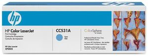 HP CC531A Toner Cyan ColorSphere (item no. 90291138) - Picture #2