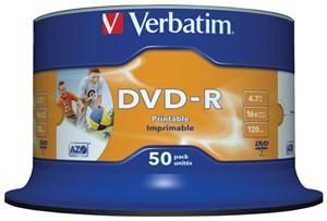 Verbatim DVD-R 4.7GB 16X 50er Spindel (Article no. 90295680) - Picture #5