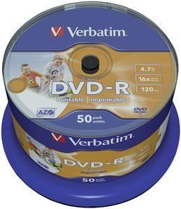 Verbatim DVD-R 4.7GB 16X 50er Spindel (Article no. 90295680) - Picture #3