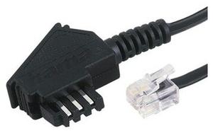 Hama TAE F-Kabel Universal 10m schwarz (Article no. 90298593) - Picture #1